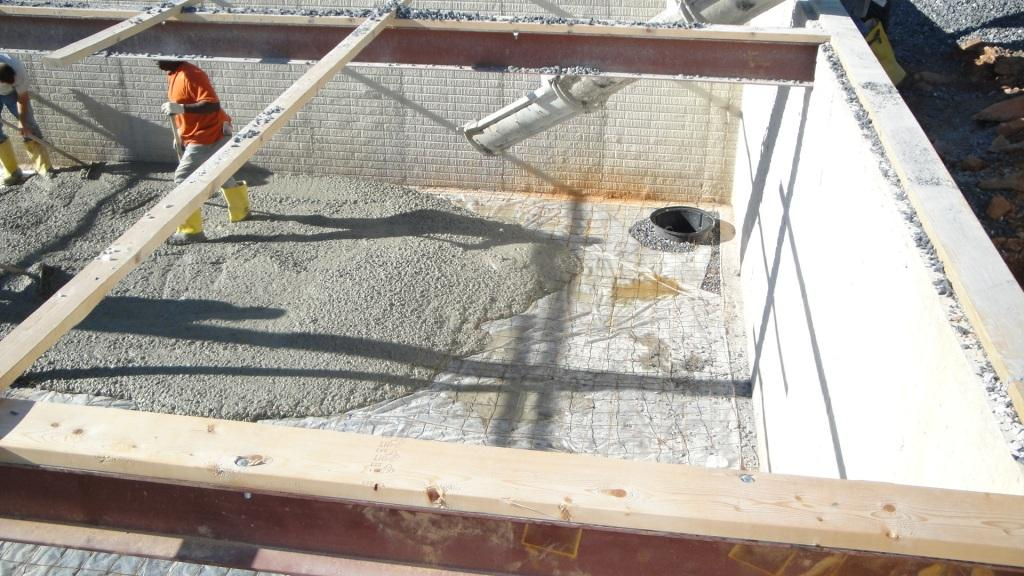 Starting the Basement Pour