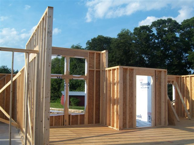 Front Doorway Framing