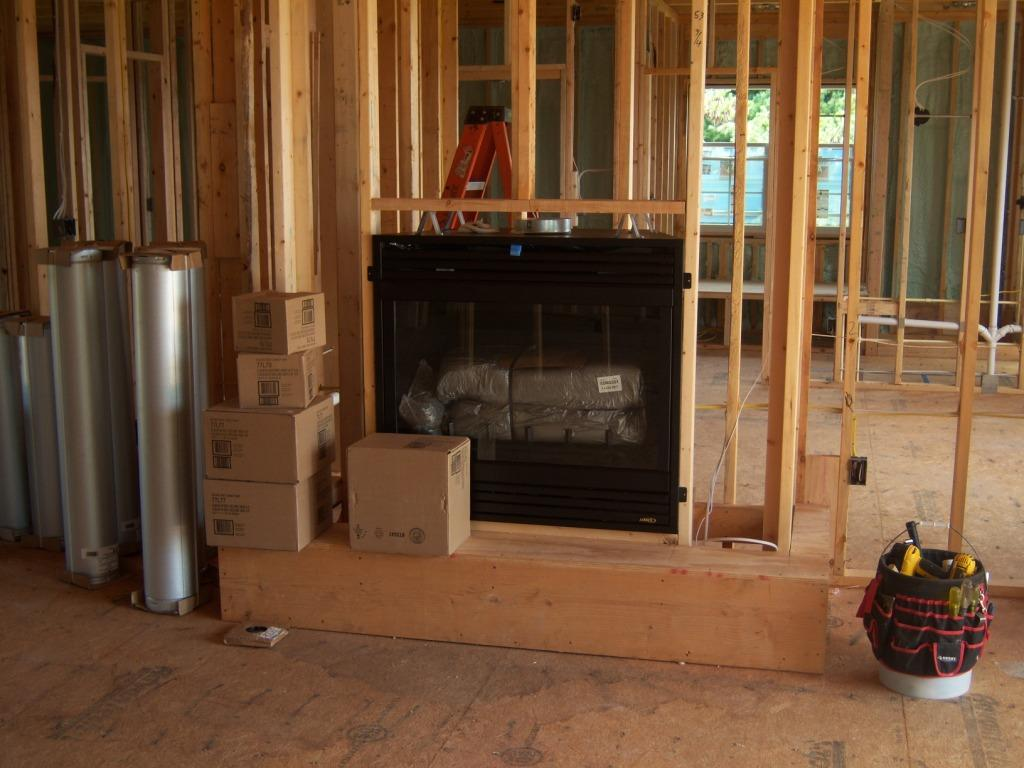 Fireplace Installation Amp Stone Prep