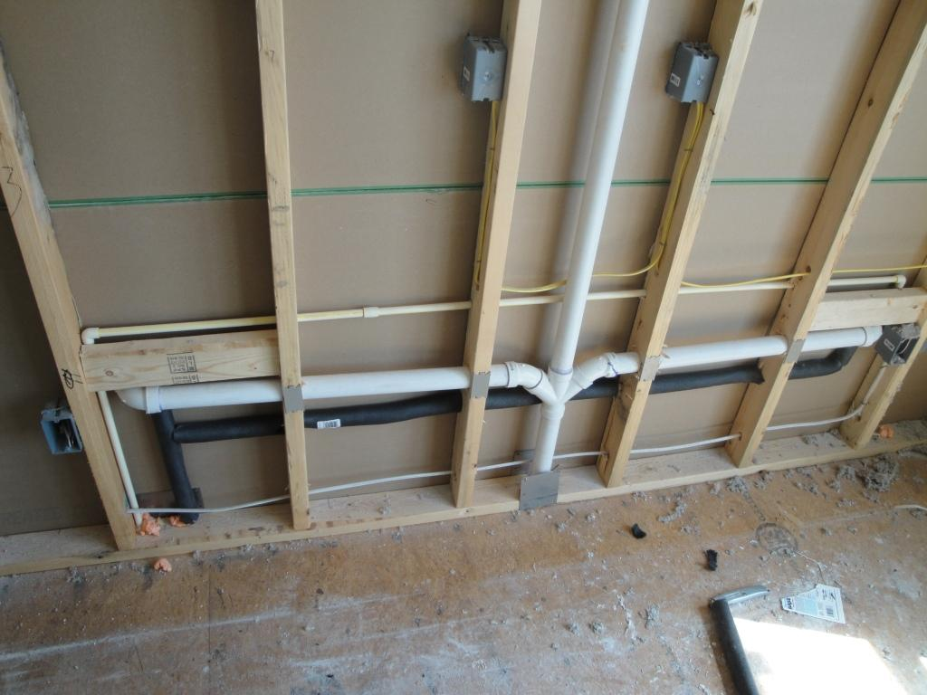 More Pipe Insulation