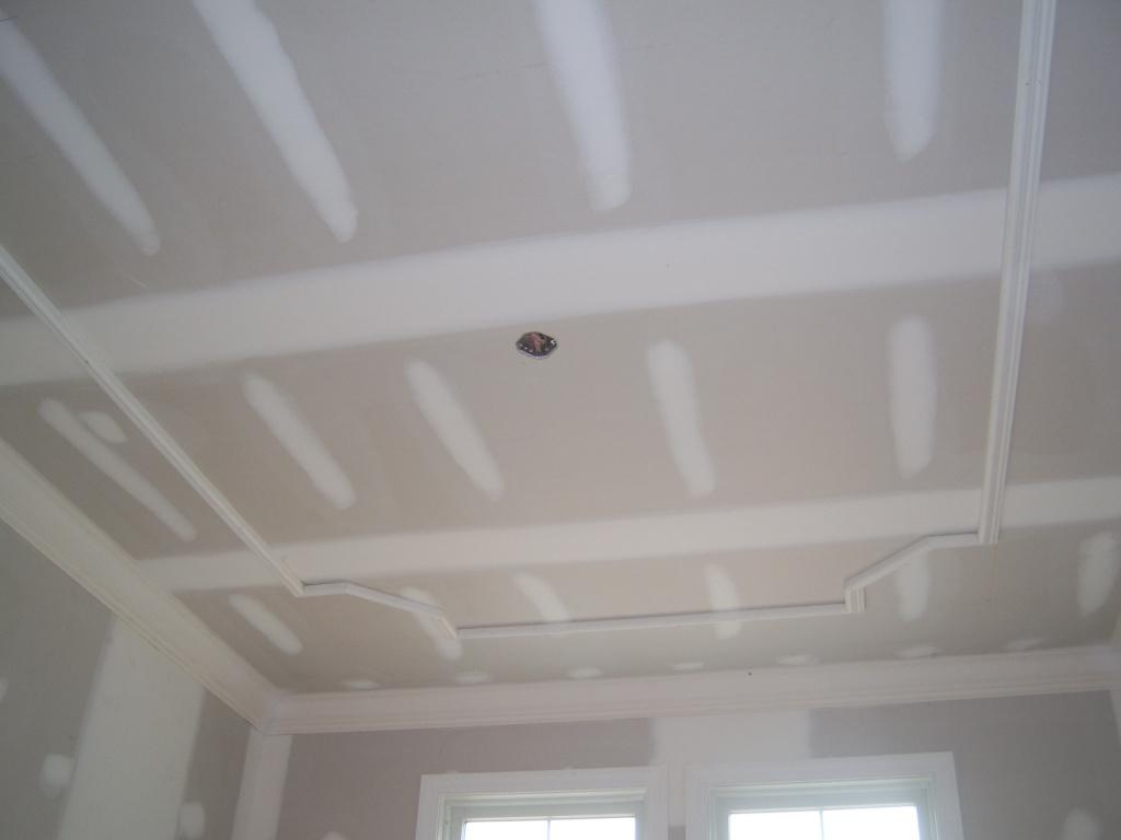 Dining Room Ceiling Completed
