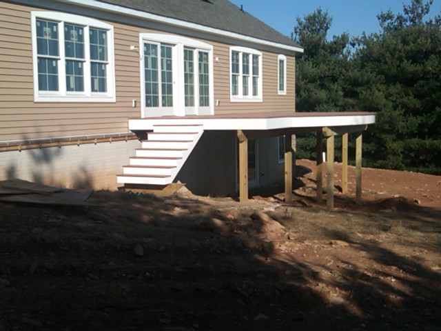 Deck Steps Complete